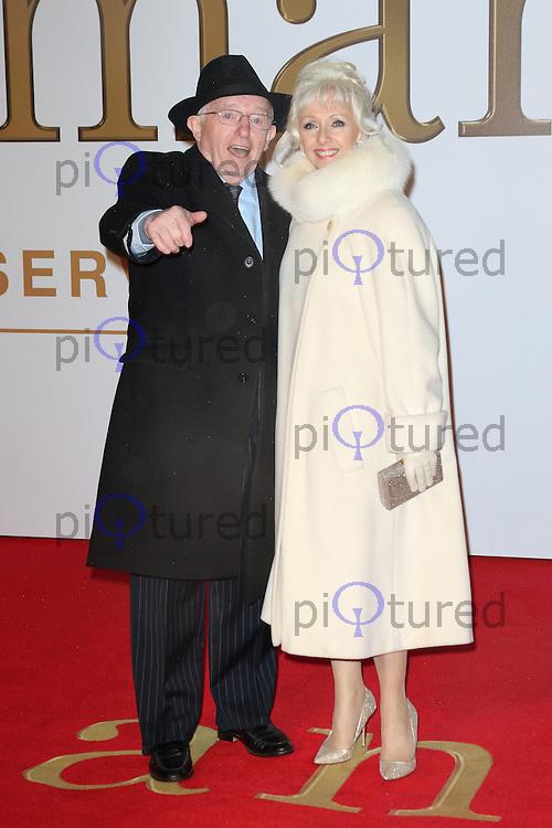 Paul Daniels, Debbie McGee, Kingsman: The Secret Service - World Film Premiere, Leicester Square, London UK, 14 January 2015, Photo by Richard Goldschmidt