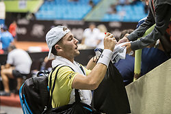 March 1, 2019 - SãO Paulo, Brazil - SÃO PAULO, SP - 01.03.2019: BRASIL OPEN 2019 ATP 250 - Brazil Open 2019 - ATP 250 - Casper RUUD (NOR) easily beat Hugo (DELLIEN (BOL) and advance to the semi-finals of the tournament, in a match played this afternoon of 01 March 2019. (Credit Image: © Van Campos/Fotoarena via ZUMA Press)