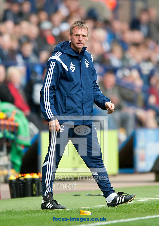 Nottingham Forest manager Stuart Pearce during the Sky Bet Championship match at the Macron Stadium, Bolton<br /> Picture by Russell Hart/Focus Images Ltd 07791 688 420<br /> 16/08/2014