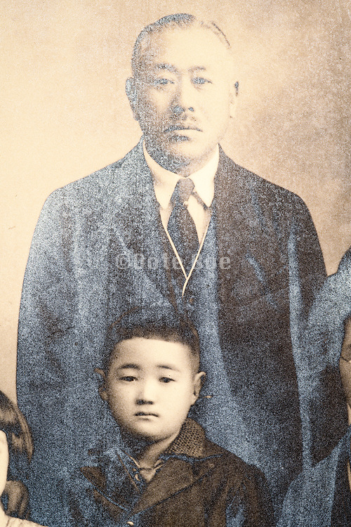 father with son Japan 1932