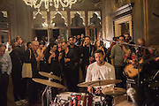 JASON MORAN, Okwui Enwezor and Vinyl Facorty hosted party at Ca'Sagredo, Campo Santa Sofia Venice Biennale, Venice. 5 May 2015
