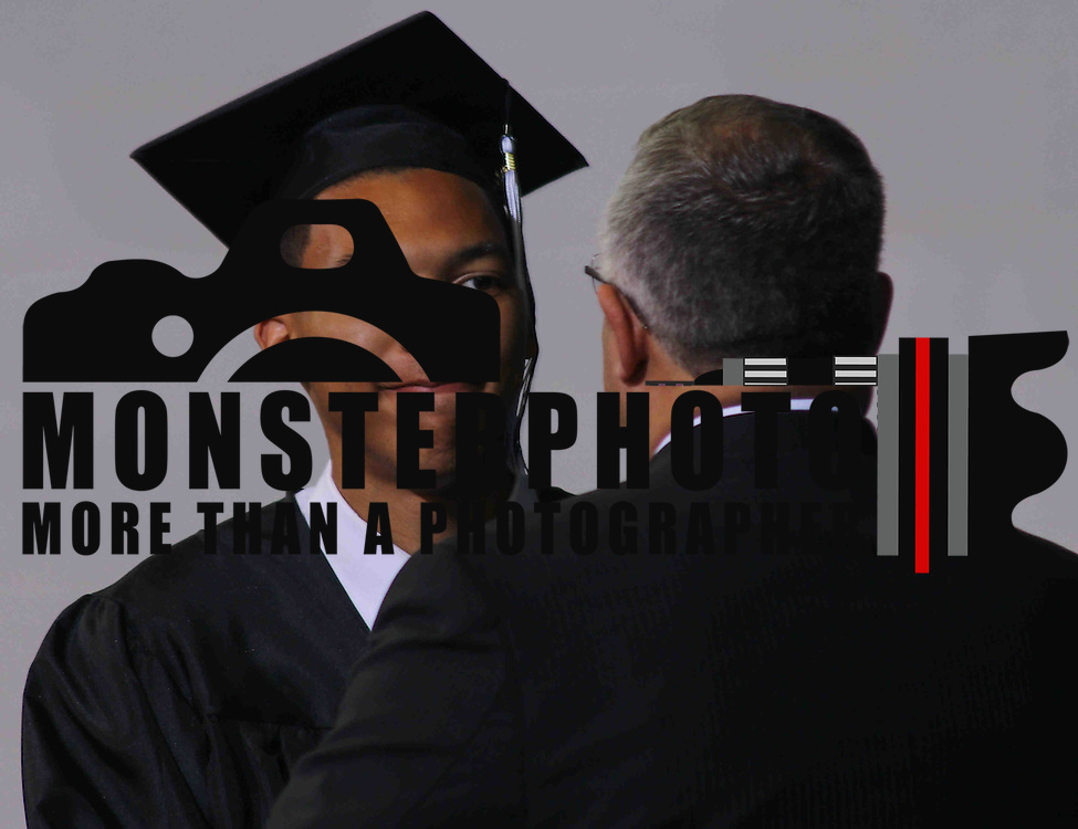 John Dickinson graduate Donald J. Bowman, III  receives his diploma during 55th commencement exercises Saturday, June 06, 2015, at The Bob Carpenter Sports Convocation Center in Newark, Delaware.