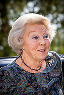 Princess Beatrix of The Netherlands attends the symposium Muscles2Meet of the princess Beatrix Spiersfonds (muscle foundation) in Zeist, The Netherlands, 24 May 2019. robin utrecht