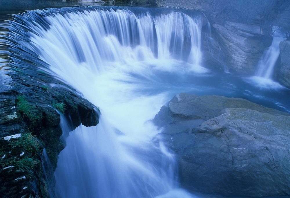 France, Languedoc Roussillon, Hérault, Cevennes, Saint-Laurent-le-Minier, Ganges, cascade de la Vis