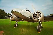 Restored Lockheed 12A Electra Junior. Fayetteville, Georgia.