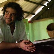 Diego Badaro dans l'une des fazendas de ses ai?euls/Diego Badaro in one of the fazendas of its grandfathers Diego Badaro, la civilisation du cacao