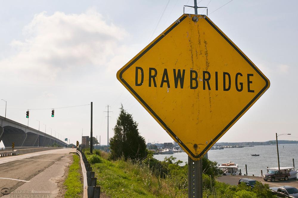 Kent Narrows Drawbridge, Kent Narrows, Maryland USA