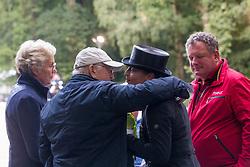 Werth Isabell, GER, Bella Rose<br /> Rotterdam - Europameisterschaft Dressur, Springen und Para-Dressur 2019<br /> Impressionen am Rande<br /> Longines FEI European Championships Dressage Grand Prix - Teams (2nd group)<br /> Teamwertung 2. Gruppe<br /> 20. August 2019<br /> © www.sportfotos-lafrentz.de/Sharon Vandeput