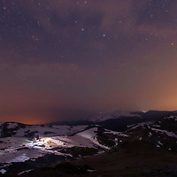 Sky full of stars in Central Balkan Mountain