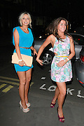 11.JUNE.2011. LONDON<br /> <br /> CORONATION STREET ACTRESSES BROOKE VINCENT  AND SACHA PARKINSON CELEBRATING AT BROOKE VINCENTS BIRTHDAY BASH AT MERAH IN LONDON<br /> <br /> BYLINE: EDBIMAGEARCHIVE.COM<br /> <br /> *THIS IMAGE IS STRICTLY FOR UK NEWSPAPERS AND MAGAZINES ONLY*<br /> *FOR WORLD WIDE SALES AND WEB USE PLEASE CONTACT EDBIMAGEARCHIVE - 0208 954 5968*