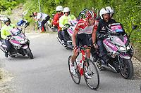 Van Den Broeck Jurgen - Lotto Soudal - 26.05.2015 - Tour d'Italie - Etape 16 - Pinzolo / Aprica<br />Photo : Pool / Sirotti / Icon Sport *** Local Caption ***