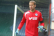 Jussi Jaskeleinan during the Sky Bet League 1 match between Rochdale and Wigan Athletic at Spotland, Rochdale, England on 14 November 2015. Photo by Daniel Youngs.