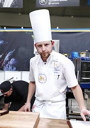 September 29, 2018 - Stockholm, Sweden - Ludwig Tjörnemo, Operakällaren, Stockholm..Chef Of The Year contest, Stockholm, 2018-09-29..(c) Patrik C Österberg / IBL. (Credit Image: © Patrik C ÖSterberg/IBL via ZUMA Press)