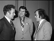 24/01/1979.01/24/1979.24th January 1979.Pictured at the launch of SodaStream in Ireland at the Burlington Hotel, Dublin. L-R, Mr Donal O'Sullivan and Mr Kevin O'Sullivan and Mr Aidan Clarke.