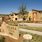 Carlos Rodriguez designed Solara, the first entirely solar powered apartment complex in North America, for the Poway Redevelopment Agency - a suburb of San Diego - in 2007. The apartments generate enough energy to sell surplus wattage back to San Diego Gas & Electric.
