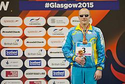 MASHCHENKO Oleksandre UKR at 2015 IPC Swimming World Championships -  Men's 100m Breaststroke SB11