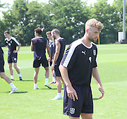 Rory Loy during Dundee pre-season training at GLOBALL Football Park, Budapest, Hungary<br /> <br />  - &copy; David Young - www.davidyoungphoto.co.uk - email: davidyoungphoto@gmail.com