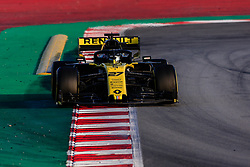 February 19, 2019 - Montmelo, BARCELONA, Spain - Nico Hulkenberg from Germany with 27 Renault F1 Team RS19 in action during the Formula 1 2019 Pre-Season Tests at Circuit de Barcelona - Catalunya in Montmelo, Spain on February 19. (Credit Image: © AFP7 via ZUMA Wire)