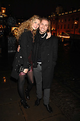 Actress TAMSIN EGERTON and ANDY JONES at a Winter Party to celebrate the opening of the Ice Rink at Somerset House, London in association with jewellers Tiffany on 20th November 2007.<br /><br />NON EXCLUSIVE - WORLD RIGHTS