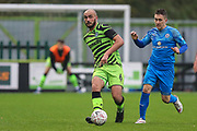 Forest Green Rovers Farrend Rawson(6) passes the ball forward during the The FA Cup match between Forest Green Rovers and Billericay Town at the New Lawn, Forest Green, United Kingdom on 9 November 2019.