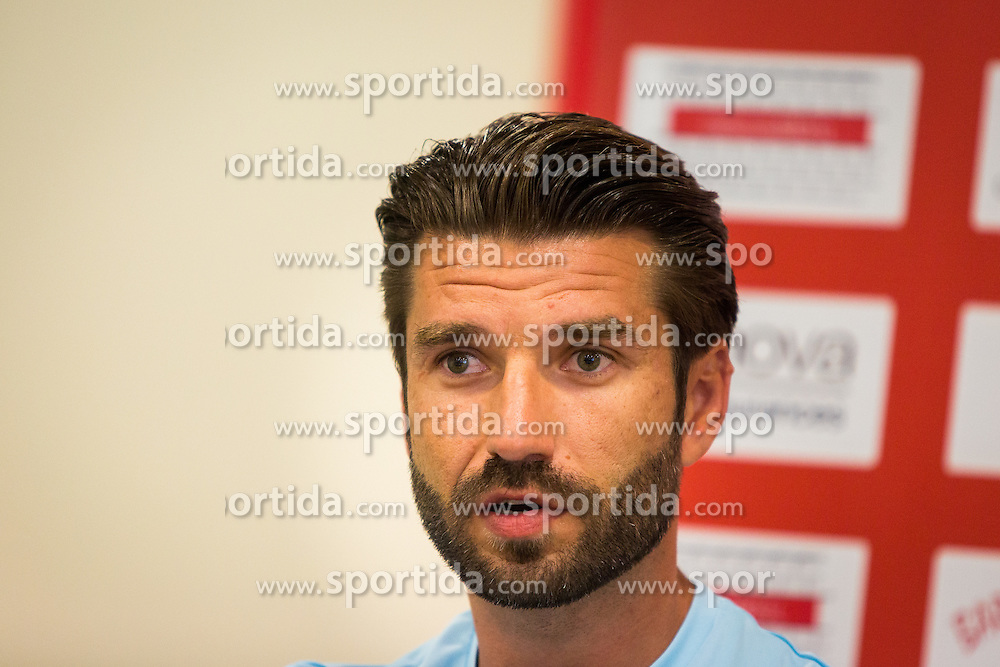 Luka Elsner, head coach of Domzale during practice session before football match between NK Domzale and FC Lusitanos Andorra in second leg of UEFA Europa league qualifications on July 6, 2016 in Andorra la Vella, Andorra. Photo by Ziga Zupan / Sportida