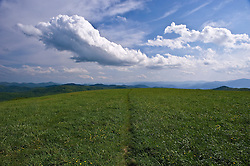 Views of and around Max Patch which is traversed by the Appalachian Trail.
