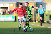 Forest Green Rovers Joseph Mills(23) during the EFL Sky Bet League 2 match between Forest Green Rovers and Salford City at the New Lawn, Forest Green, United Kingdom on 18 January 2020.