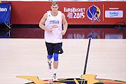 DESCRIZIONE: Berlino EuroBasket 2015 - Allenamento<br /> GIOCATORE:Nicolo Melli<br /> CATEGORIA: Allenamento<br /> SQUADRA: Italia Italy<br /> EVENTO:  EuroBasket 2015 <br /> GARA: Berlino EuroBasket 2015 - Allenamento<br /> DATA: 04-09-2015<br /> SPORT: Pallacanestro<br /> AUTORE: Agenzia Ciamillo-Castoria/M.Longo<br /> GALLERIA: FIP Nazionali 2015<br /> FOTONOTIZIA: Berlino EuroBasket 2015 - Allenamento