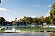 Freibad Schwanseebad, Weimar, Thüringen, Deutschland | swimming pool Schwanseebad, Weimar, Thuringia, Germany