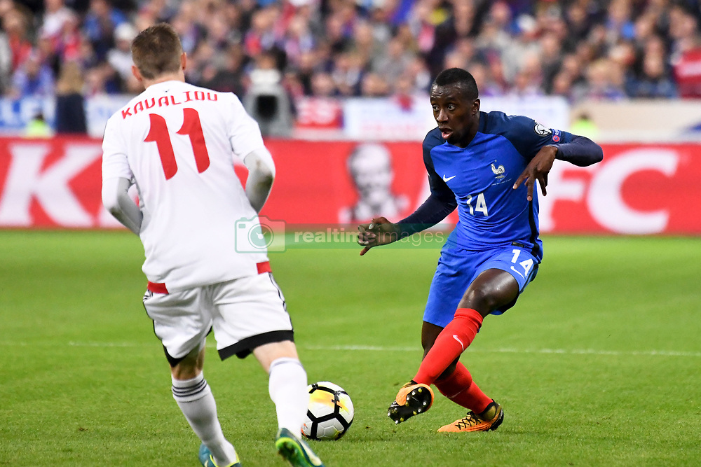 October 10, 2017 - Saint Denis, France - 14 BLAISE MATUIDI  (Credit Image: © Panoramic via ZUMA Press)