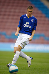 Widnes, England - Tuesday, September 4, 2007: Everton's Steven Morrison during the Premier League Reserve match at the Halton Stadium. (Photo by David Rawcliffe/Propaganda)