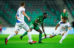 Kingsley Boateng of Olimpija during football match between NK Olimpija Ljubljana and NK Celje in 3rd Round of Prva liga Telekom Slovenije 2018/19, on Avgust 05, 2018 in SRC Stozice, Ljubljana, Slovenia. Photo by Vid Ponikvar / Sportida