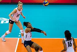 14-10-2018 JPN: World Championship Volleyball Women day 15, Nagoya<br /> China - United States of America 3-2 / Rachael Adams #5 of USA