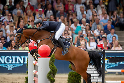 Brocks Karl jun. (GER), Caramba 70<br /> Balve - Longines Optimum 2019<br /> LONGINES Optimum Preis<br /> Deutsche Meisterschaft der Springreiter<br /> Finalwertung<br /> 16. Juni 2019<br /> © www.sportfotos-lafrentz.de/Stefan Lafrentz