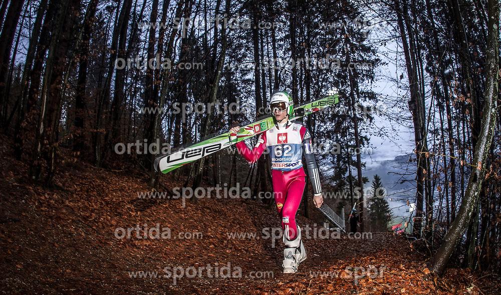 05.01.2014, Paul Ausserleitner Schanze, Bischofshofen, AUT, FIS Ski Sprung Weltcup, 62. Vierschanzentournee, Qualifikation, im Bild Peter Prevc (SLO) // Peter Prevc (SLO) during qualification Jump of 62nd Four Hills Tournament of FIS Ski Jumping World Cup at the Paul Ausserleitner Schanze, Bischofshofen, Austria on 2014/01/05. EXPA Pictures © 2014, PhotoCredit: EXPA/ JFK