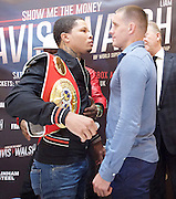 Floyd Mayweather Jr & Frank Warren press conference at The Savoy Hotel, London, Great Britain <br /> 7th March 2017 <br /> <br /> Gervonta Davis <br /> (an American professional boxer who has held the IBF junior lightweight title since January 2017)<br /> <br /> 