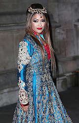 Tasmin Lucia-Khan arriving at a reception for the  British Asian Trust at the Victoria and Albert Museum in London, Wednesday, 5th February 2014. Picture by Stephen Lock / i-Images