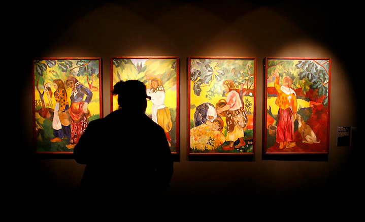 """TEMA: EXPOSICIO? """"ORIGENS DE L'AVANTGUARDA RUSSA"""" A LA FONTANA D'OR. LLOC: GIRONA. DATA:  20-11-08. FOTO: JORDI RIBOT-LVE."""