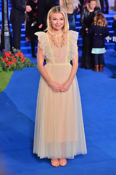 © Licensed to London News Pictures. 12/12/2018. London, UK. Georgia Toffolo attends attends the Mary Poppins Returns European film premiere held at the Royal Albert Hall. Photo credit: Ray Tang/LNP