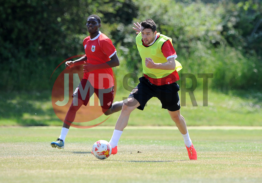 Bristol City's Brendan Moloney - Photo mandatory by-line: Dan Rowley/JMP - Tel: Mobile: 07966 386802 02/07/2014 - SPORT - FOOTBALL - Bristol -  Bristol City Training
