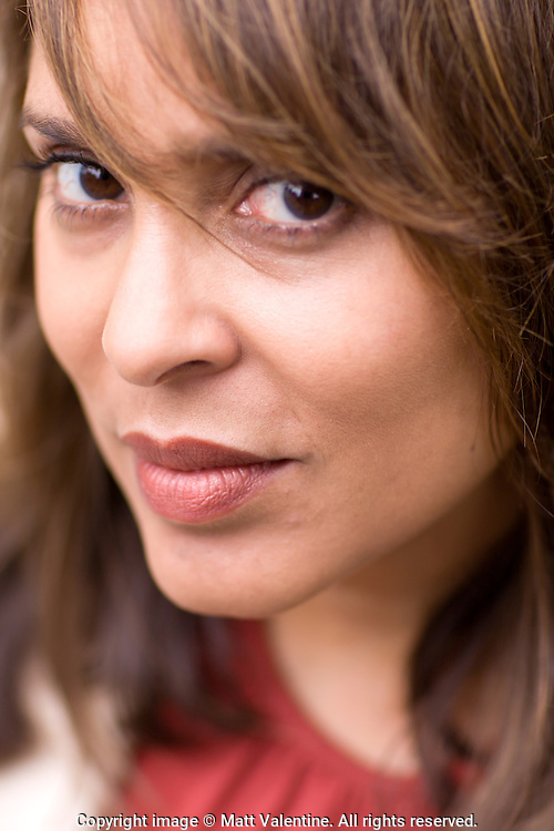 Portrait of the Pulitzer Prize-winning poet Natasha Trethewey, who became Poet Laureate of the United States on June 7, 2012.