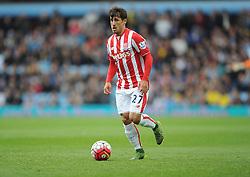 Bojan Krkic of Stoke City - Mandatory byline: Alex James/JMP - 07966 386802 - 03/10/2015 - FOOTBALL - Villa Park - Birmingham, England - Aston Villa v Stoke City - Barclays Premier League