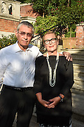 IZAK UZIYEL; FREDA UZIYEL, Dinner to celebrate the 10th Anniversary of Contemporary Istanbul Hosted at the Residence of Freda & Izak Uziyel, London. 23 June 2015