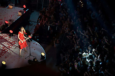 NOV 6 2012 Taylor Swift switches on Westfield White City Christmas Lights