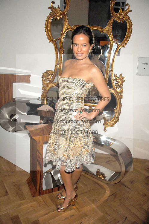 JADE JAGGER at the TOD's Art Plus Film Party 2008 hosted by The Whitechapel Art Gallery at a former church at 1 Marylebone Road, London NW1 on 6th March 2008.<br />