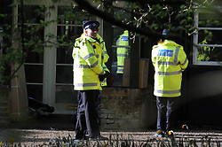 © Licensed to London News Pictures. 08/04/2014<br /> Peaches Geldof Death.<br /> Police outside the home of Peaches Geldof this morning (08.04.2014) after she died yesterday at the age of 25 years.<br /> Photo credit :Grant Falvey/LNP