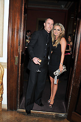 JAMES & OLA JORDAN at the 39th birthday party for Nick Candy in association with Ciroc Vodka held at 5 Cavindish Square, London on 21st Januatu 2012.