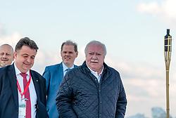 18.05.207, Kitzsteinhorn, Kaprun, AUT, 67. Oesterreichischer Staedtetag, Gipfeltreffen, im Bild Bürgermeister Peter Padourek (Zell am See), Städtebund-Präsident und Bürgermeister von Wien Michael Häupl (SPoE) // during the Austrian General Assemblies of the Cities at the Kitzsteinhorn Glacier in Kaprun, Austria on 2017/05/18. EXPA Pictures © 2017, PhotoCredit: EXPA/ JFK