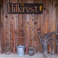 Hillcrest Vinyards, Roseburg, Oregon (Server: Jennifer Ferguson)