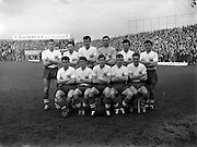 13/03/1960<br /> 03/13/1960<br /> 13 March 1960<br /> Soccer Amateur International: Ireland v Great Britain at Dalymount Park, Dublin. The Great Britain team that defeated Ireland.